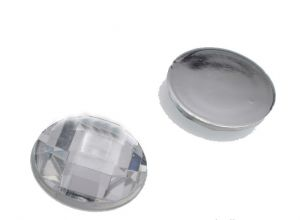 Камень клеевой  14мм белый упаковка  500шт