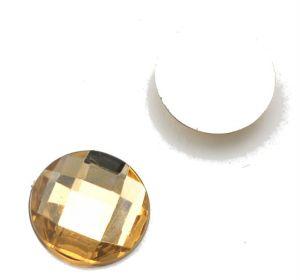 Камень клеевой  16мм  коричневый упаковка 500шт