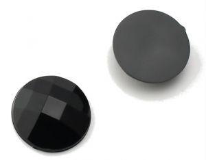 Камень клеевой 16мм черный