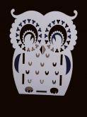 Карандашница с таблицей умножения Сова Д 209
