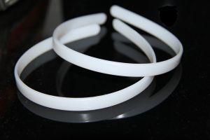 Обруч пластиковый 1см   плоский