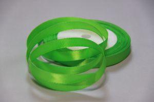 Лента атласная 1см. №52 светло зеленая упаковка