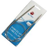 Спицы вязальные на тросике 100 см (4мм)  упаковка