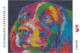 Алмазная вышивка АВ 4052 19*23см Собака полная зашивка