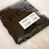 Бисер калиброванный №Н748  50гр черный
