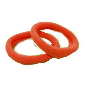 Резинка для волос  3см упаковка 50шт оранж
