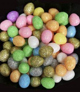 Яйца пасхальныедекоративные пенопластовые  (упаковка 100шт)