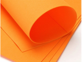 Фоамиран  оранжевый 20см*30см 10шт