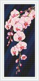 Алмазная вышивка Пано АП 018 20см*46,8см Девушка Лилии полная зашивка