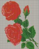 Алмазная вышивка АВ 4019 19*23см Роза полная зашивка