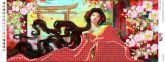 Пано ПМ 4031 Цветы сакуры частичная зашивка
