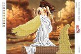 Схема для вышивки бисером СВ 4030 Ангел формат А4