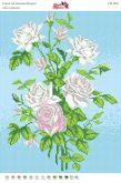 Схема для вышивки бисером Розы СВ 3036 формат А3