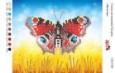 Схема для вышивки бисером   СВ 5108 Бабочка