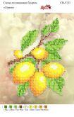 Схема для вышивки бисером   СВ 5131 Лимончики