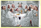 Схема для вышивки бисером Тайная Вечеря  СВР 2002 формат А2