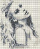 Алмазная вышивка АВ 4043 19*23см Девушка полная зашивка