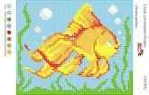 Набор для вышивки бисером   СВ 5032 Рыбка полная зашивка