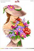 Вышивка на канве  БК 3016 Запах  квітів